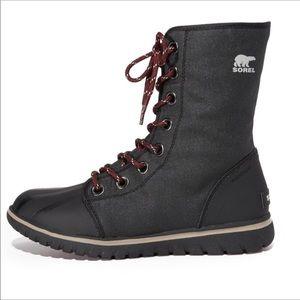 Sorel Cozy 1964 Black Boots 8 HTF
